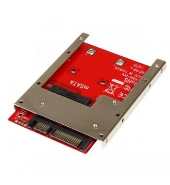 "Adaptateur SSD mSATA vers SATA 2,5"""