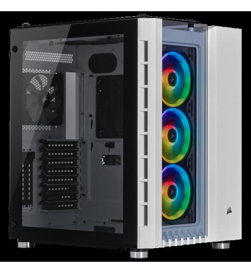 Crystal Series 680X RGB - blanc