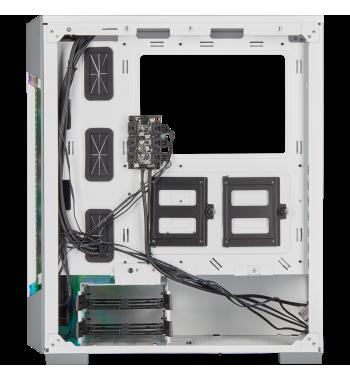 iCUE 220T RGB Airflow, blanc