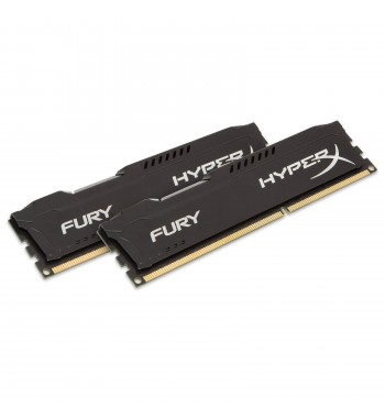 Fury Black 2x4Go 1866MHz