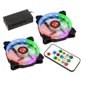 Pack 2 ventilateurs aRGB + contrôleur