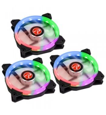 Iris 12 Rainbow RGB - kit de 3 avec contrôleur et télécommande