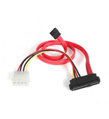 câble SATA slimline vers SATA + Molex