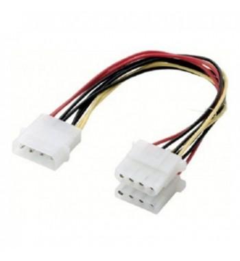 Câble en Y Molex vers 2x Molex