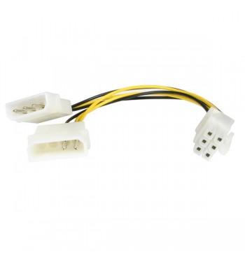 Adaptateur 2x Molex vers PCI-E 6 broches