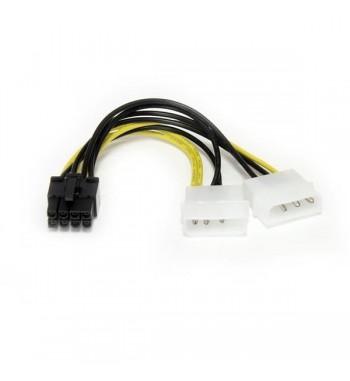 Adaptateur 2x Molex vers PCI-E 8 broches