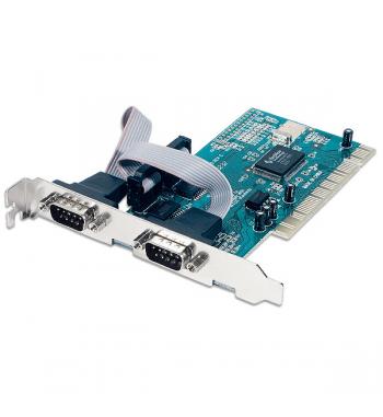 Carte contrôleur PCI 2 ports série (RS232)