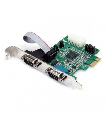 Carte contrôleur PCI-Express 2 ports série (RS232)